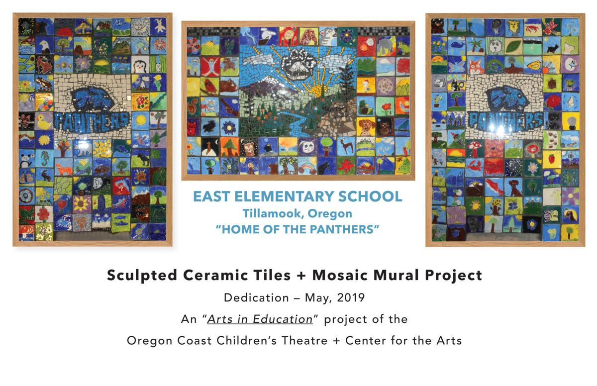 Student-sculpted mosaic mural at East Elementary | Community