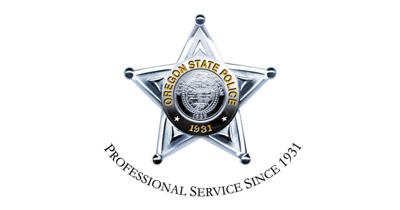 Oregon State Police Badge