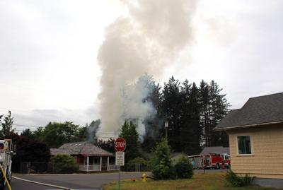 Fire at private residence in Bay City