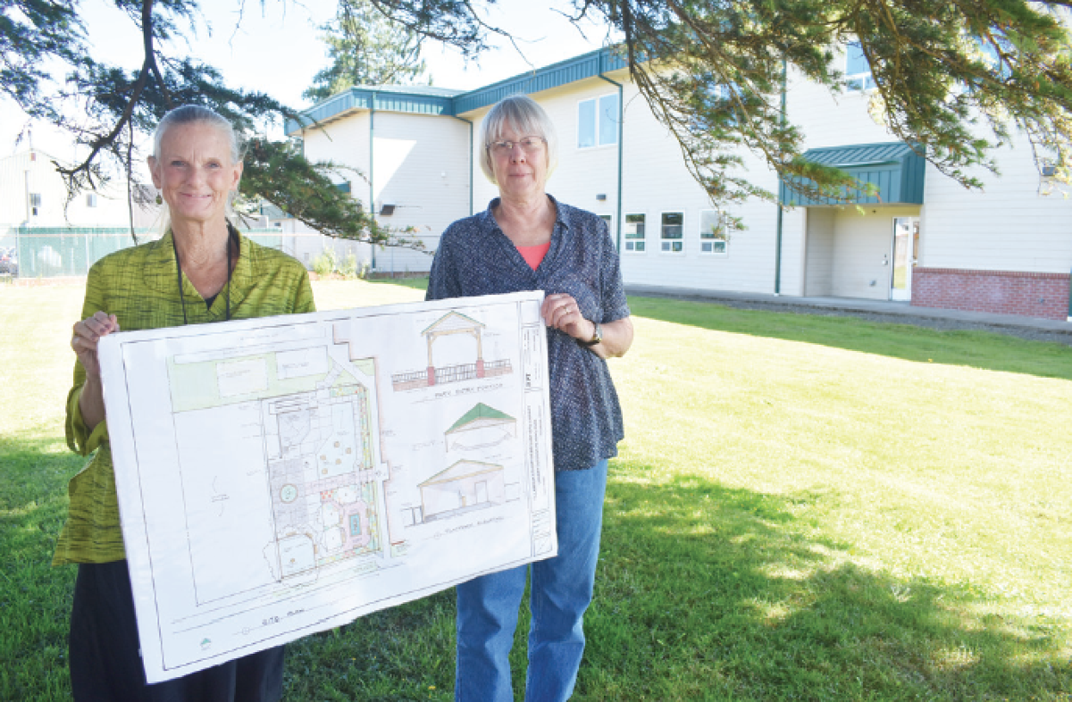 Library organizers kickoff fundraising effort for 'peoples' park