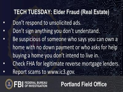 Building a Digital Defense Against Elder Fraud (Part 4 - Real Estate Scams)