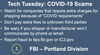 Building a Digital Defense Against COVID-19 Shipping & Insurance Scams