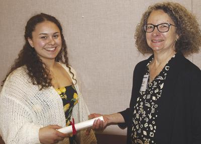 Alexis Marshall wins North Tillamook County Women's Assoc. Scholarship