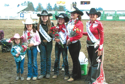 2020 Tillamook County Rodeo Queen, royalty selected