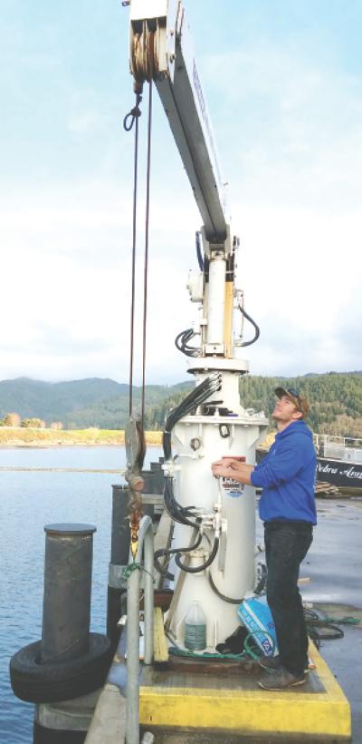Crane gives lift to new Garibaldi firm