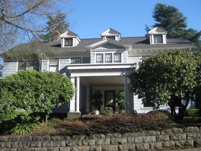 The Abraham Tichner house