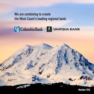 Columbia Bank, Umpqua Bank to merge