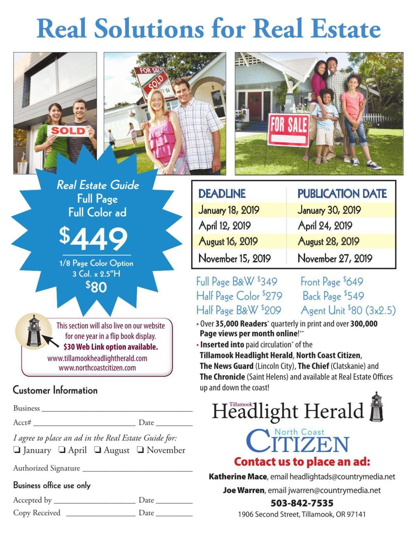 2019 Real Estate Guide Flyer