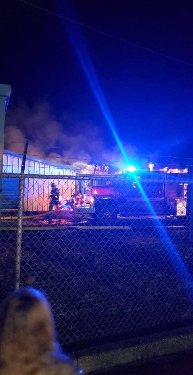 Cloverdale fire