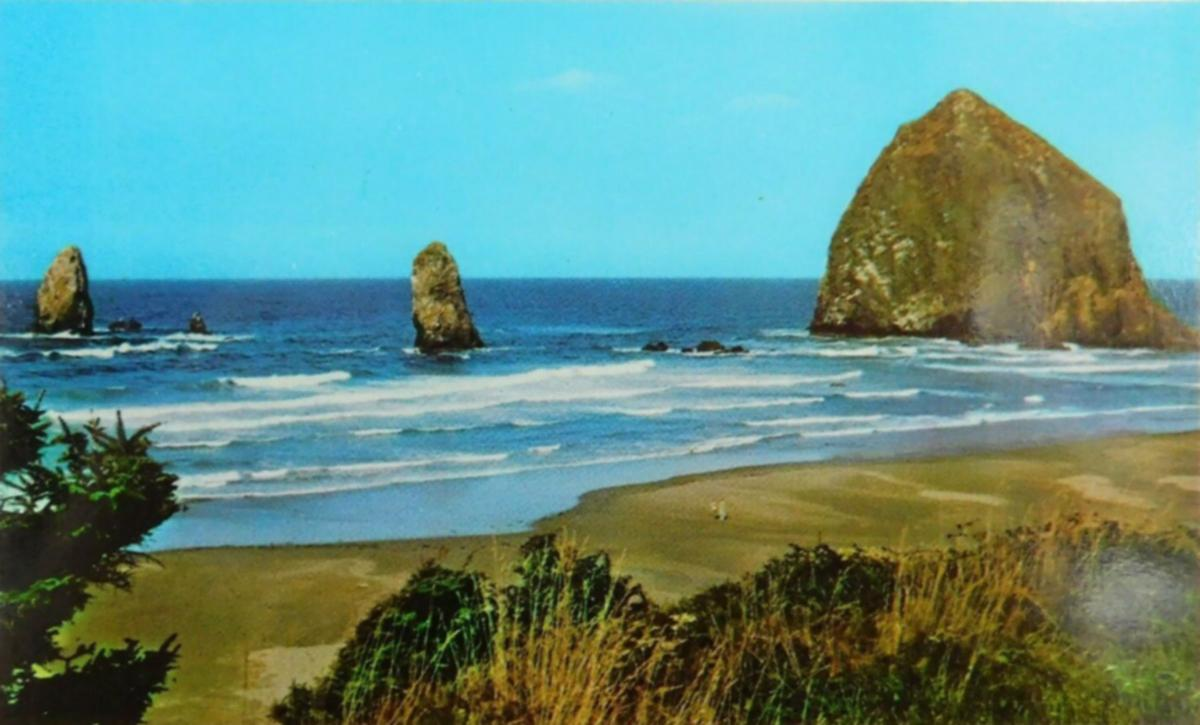 Offbeat Oregon Haystack Rock Was Once