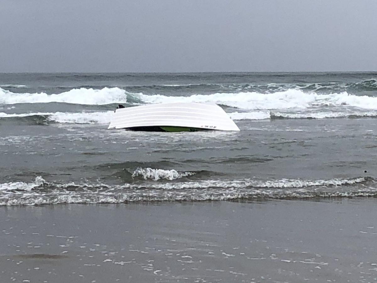 Doryboat capsize