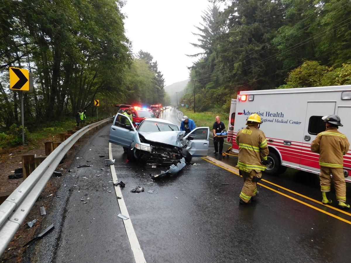 3 car accident on Hwy  101   News   tillamookheadlightherald com