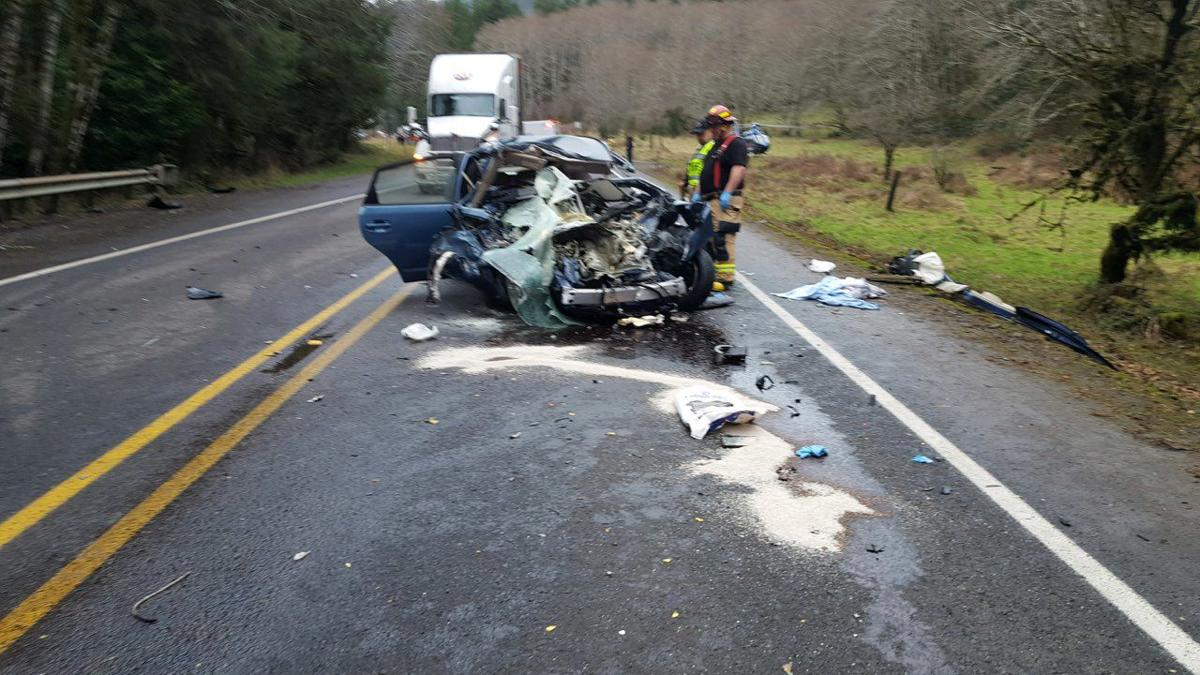 Pair of head-on collisions slow down holiday travelers