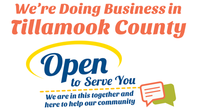 Open for Business in Tillamook County