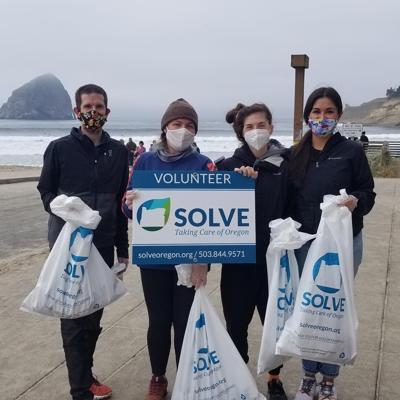 SOLVE volunteers