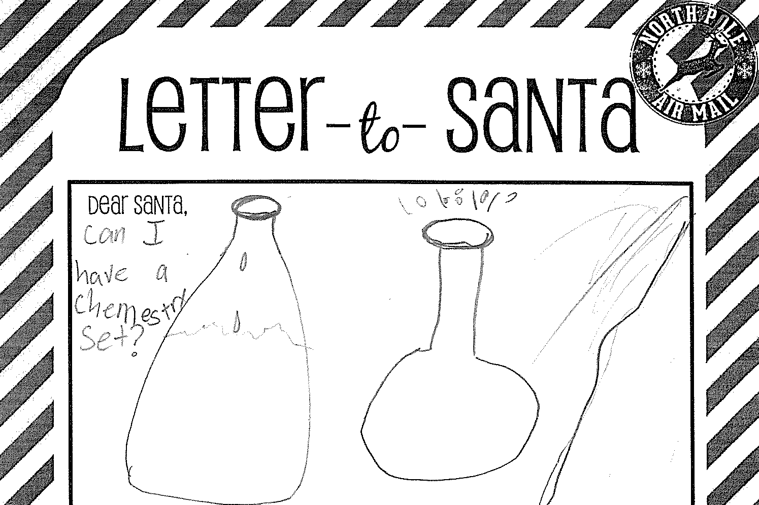 Letters to Santa: Denise Harrington second grade South