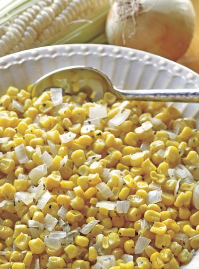 Sauteed Corn and Onion