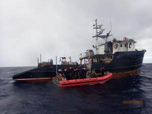 Oregon Coast Guard cutter to return home after $311 million cocaine seizure