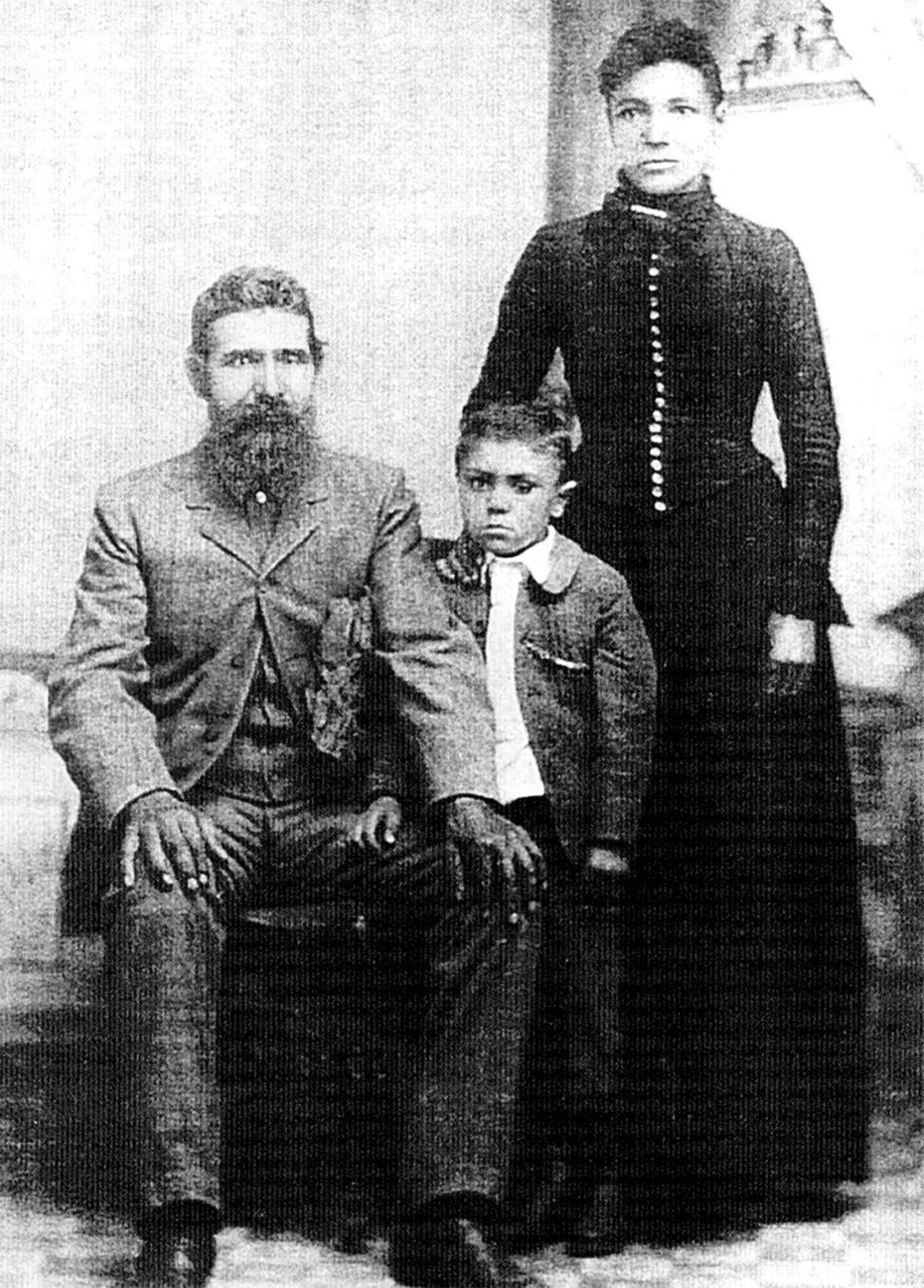 Martha Carson and family