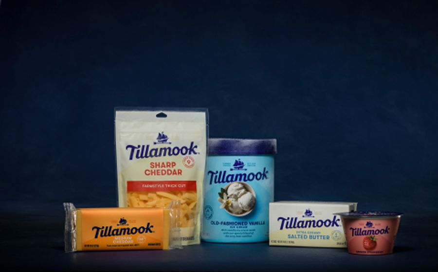 Rebranding New Look For Tillamook Creamery Products