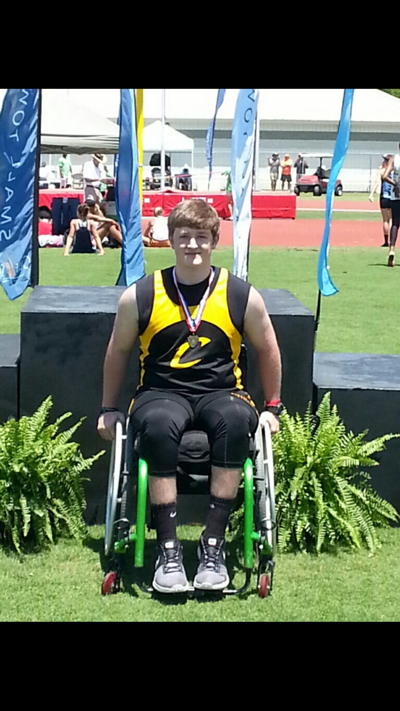 Crossville Track's Nick Walls Wins 4 Gold Medals, Breaks 3 State Records