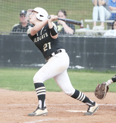 Lady 'Cats split area openers, are a win away from regional berth