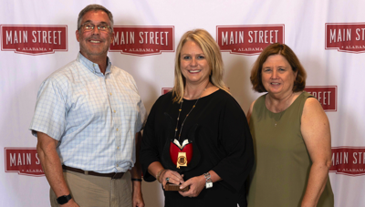 Reed recognized by Main Street Alabama