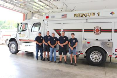 Fort Payne Rescue Team assisting in hurricane efforts
