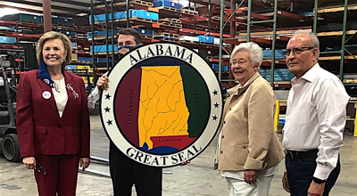 Governor Kay Ivey visits Polymer Industries in Henagar