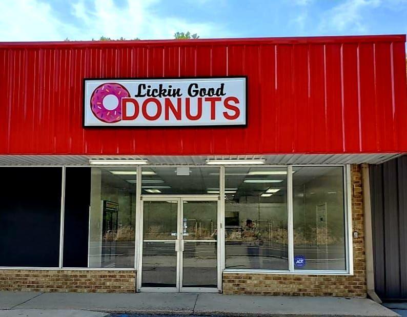 He puts the D-O-U-G in doughnut