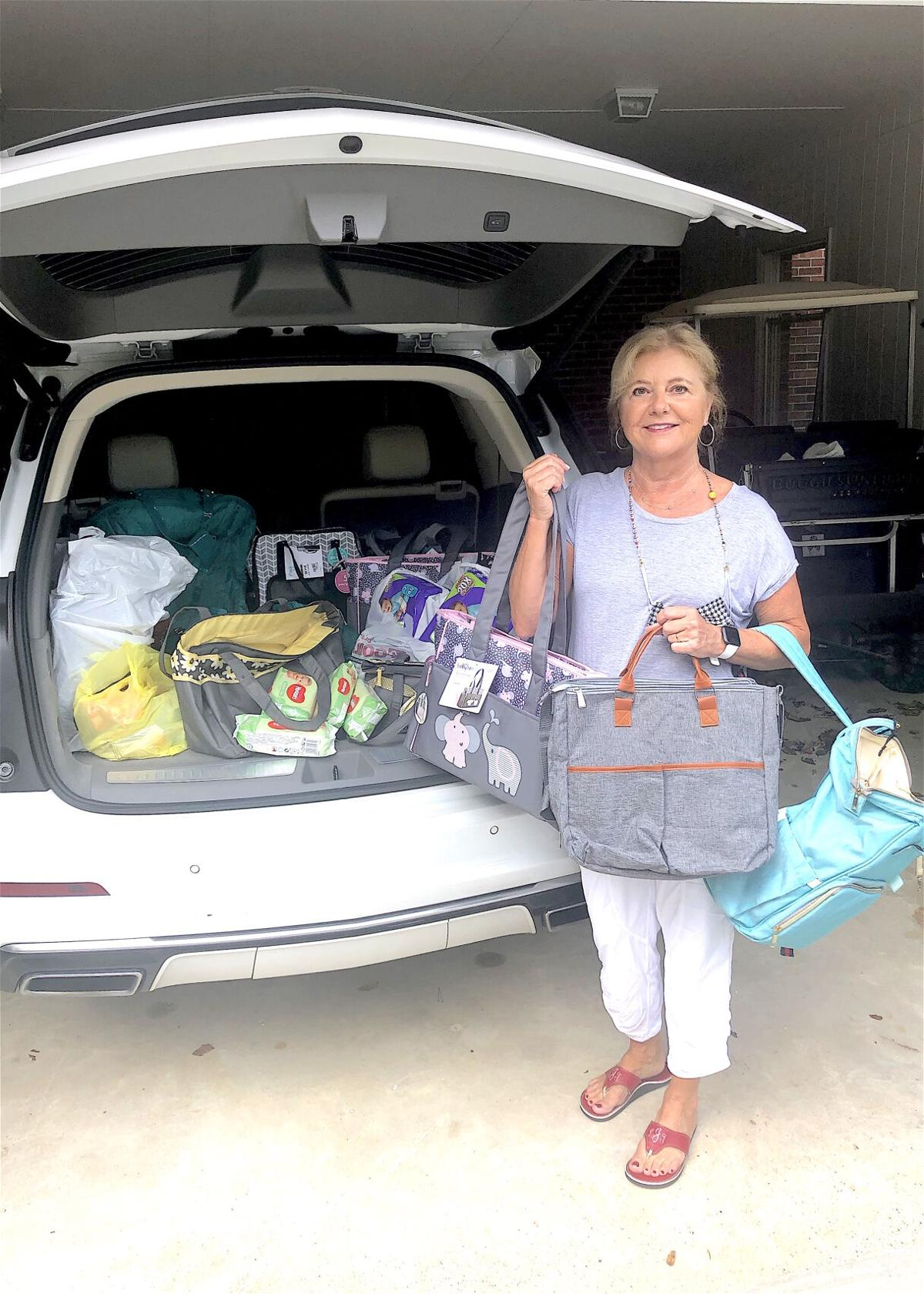 Local DAR chapter donates nearly 500 items to local foster children, masks to healthcare workers and attends state conference