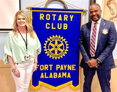 Rotary hosts 'A Little Something Extra Ice Cream' founder