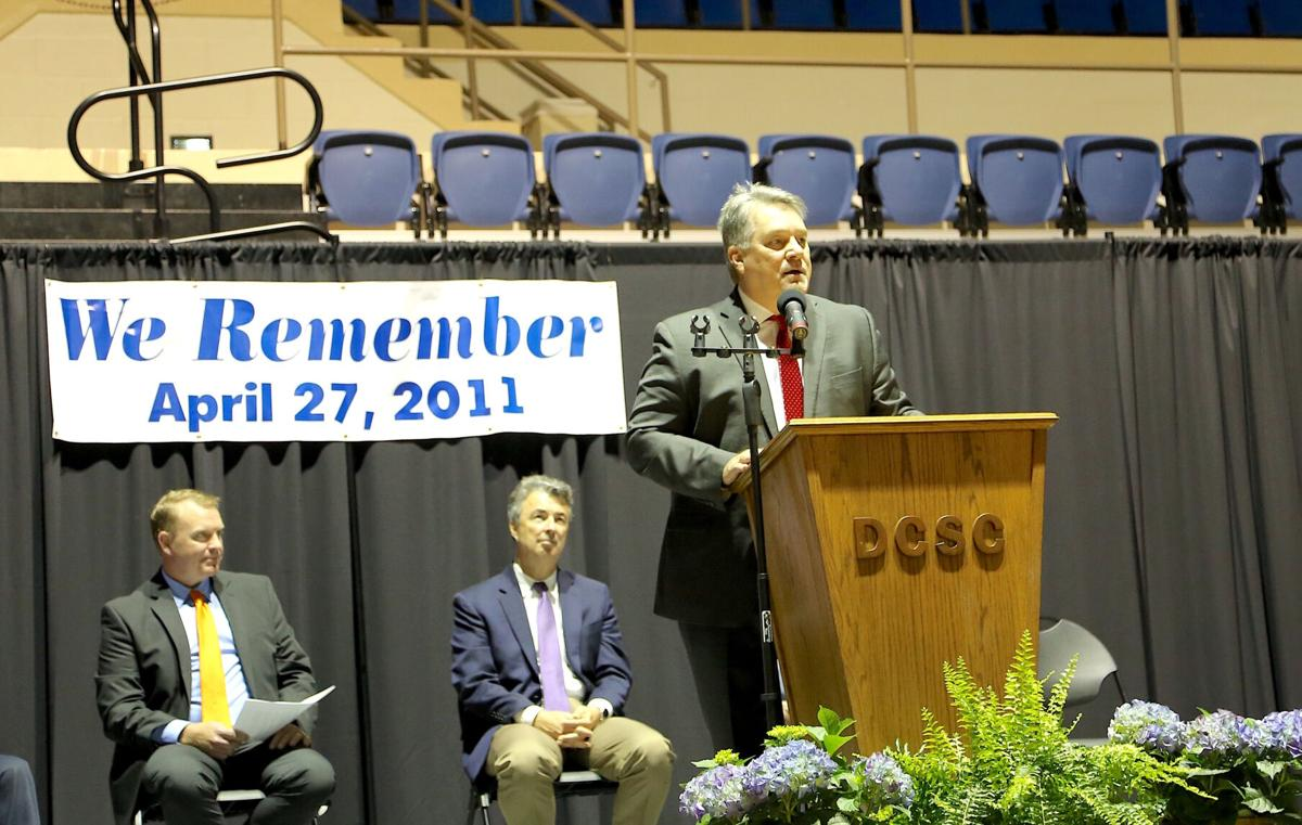 We Remember; Service held Saturday to commemorate anniversary of tornadoes