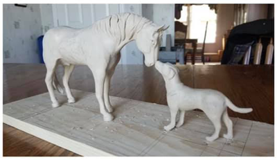 Process continues in memorializing NACC mascots Trouper and Roscoe