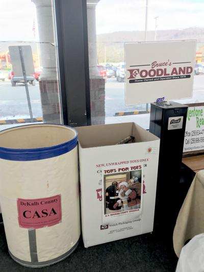 CASA and Toys for Tots drop-off location