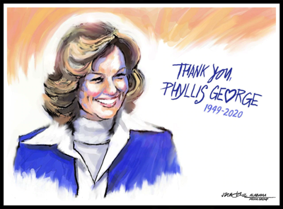 Tribute: My 'Musburger' moment with Phyllis George