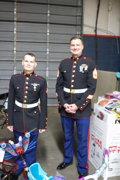 Toys for Tots sees nearly 300 items donated at weekend event