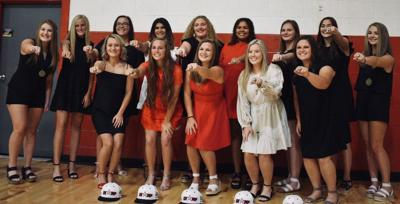 Collinsville girls receive championship rings