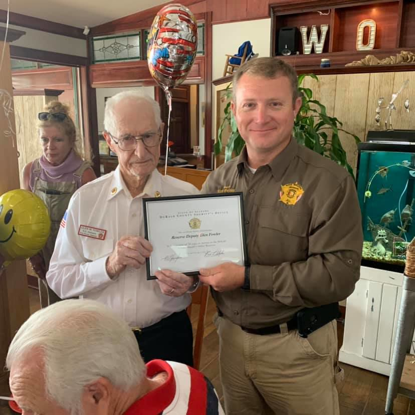 DeKalb County's oldest USMC veteran turns 92