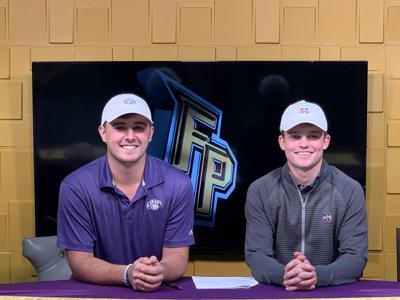 Fort Payne golfers sign letters of intent