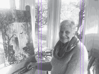 Local artist encourages others to  express themselves through art