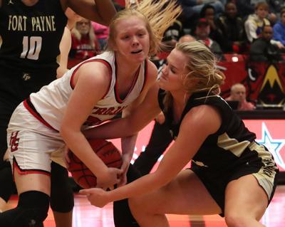 Fort Payne girls end season with  regional finals loss vs Hazel Green