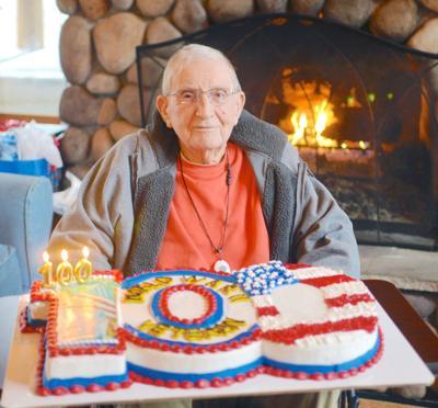 Local WWII veteran turns 100 years old