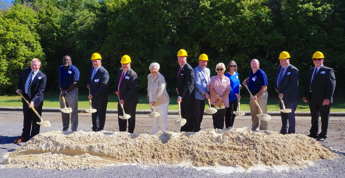 Ivey, school officials break ground on new BEAT Center