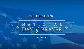 National Day of Prayer events next Thursday