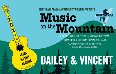 Music on the Mountain returns this August