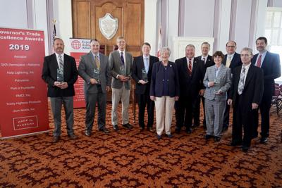 Governor honors eight winners with 2019 Trade Excellence Awards