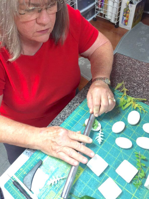 Local artist uses nature as inspiration