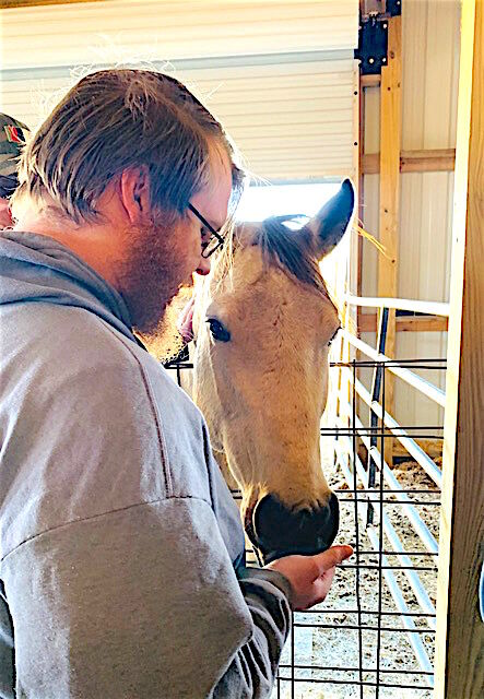 """""""It started with hope""""; Local VFW donates to equestrian sanctuary that serves veterans who suffer from PTSD"""