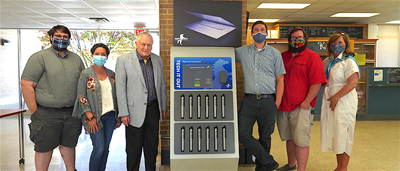 Northeast Alabama Community College first to offer free laptop checkout kiosk for students